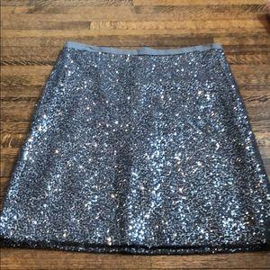 NWOT Jcrew sequin pencil skirt